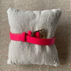 NIB Keep Collective Single Leather Pink/Natural